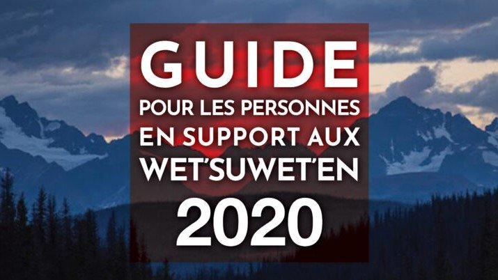 Guide pour soutenir les chefs héréditaires Wet'suwet'en