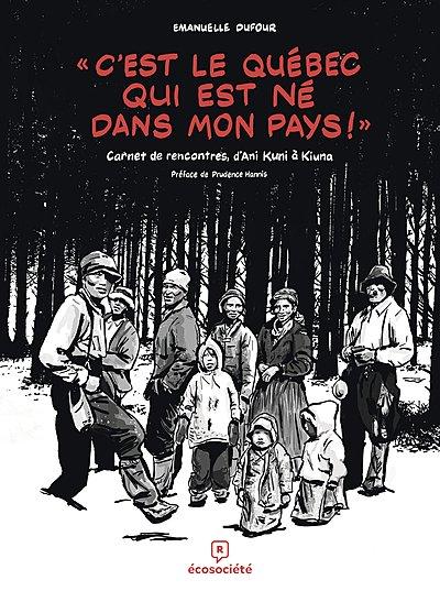 """""""C'est le Québec qui est né dans mon pays"""", une bande dessinée d'Emanuelle Dufour"""