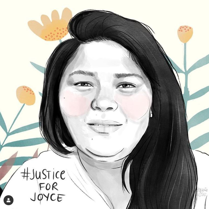 #justicepourjoyce par Marie-Eve Turgeon